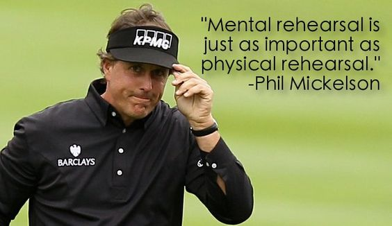 Phil Mickelson on Mental Rehearsal